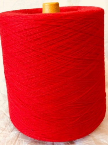 High Bulk Yarn 2/28s -Scarlet- 1200g